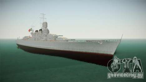 Littorio Class Battleship для GTA San Andreas
