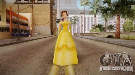 Beauty and the Beast - Belle Dress для GTA San Andreas второй скриншот