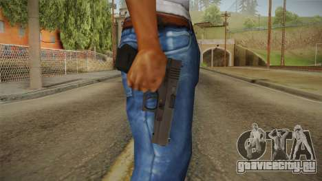 Glock 17 3 Dot Sight Orange для GTA San Andreas третий скриншот