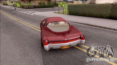 Driver PL Cerva V.2 для GTA San Andreas вид сзади слева