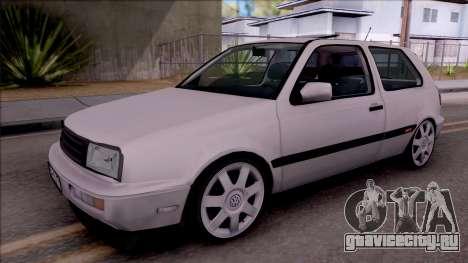 Volkswagen Golf 3 GTI для GTA San Andreas