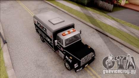 Enforcer from GTA 3 для GTA San Andreas вид справа