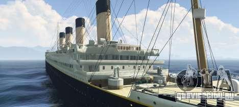 1912 RMS Titanic для GTA 5 второй скриншот