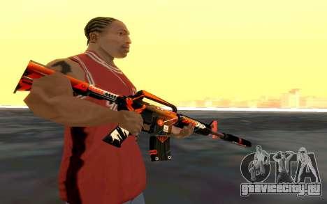 M4 Alliance для GTA San Andreas третий скриншот
