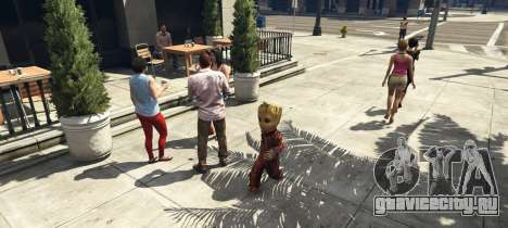 Baby Groot 1.0 для GTA 5 третий скриншот