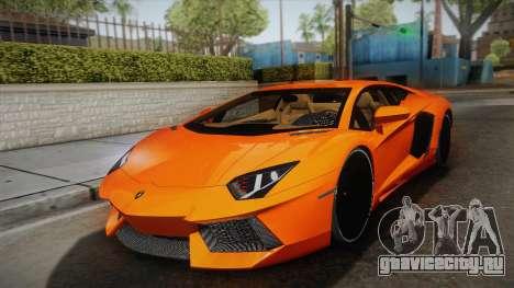 Lamborghini Aventador LP700-4 Stock для GTA San Andreas