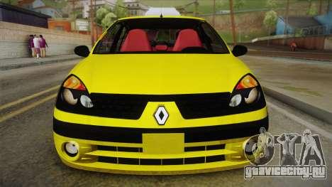 Renault Symbol Taxi для GTA San Andreas вид справа