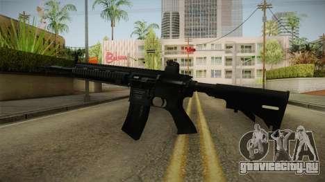 HK416 Assault Rifle для GTA San Andreas второй скриншот