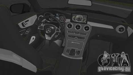 Mercedes-Benz C63 Coupe Edition 1 для GTA San Andreas