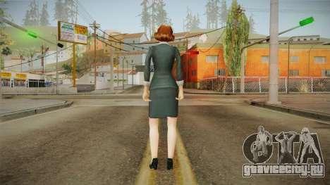 Miss Danvers from Bully Scholarship для GTA San Andreas третий скриншот