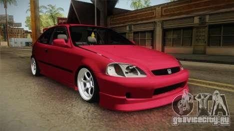 Honda Civic EK9 Stance для GTA San Andreas вид справа