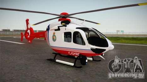 Airbus Eurocopter EC-135 YRP для GTA San Andreas