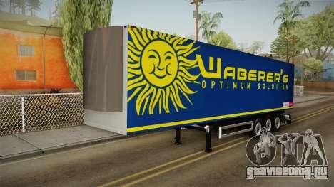 Waberers Trailer для GTA San Andreas