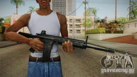 HK416 Assault Rifle для GTA San Andreas третий скриншот