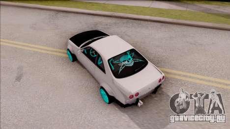 Nissan Skyline R33 Rocket Bunny v2 для GTA San Andreas вид сзади