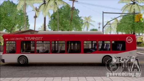 GTA V Brute Bus IVF для GTA San Andreas вид слева