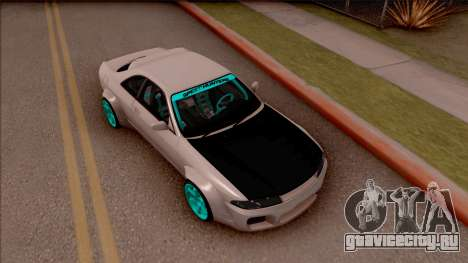 Nissan Skyline R33 Rocket Bunny v2 для GTA San Andreas вид справа