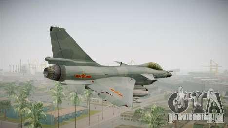 Chengdu J-10 Vigorous Dragon для GTA San Andreas вид справа
