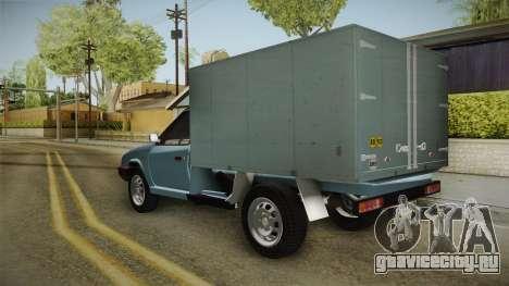 Škoda Favorit Truck DV для GTA San Andreas вид справа