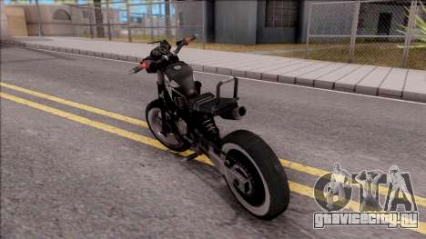 Homefront The Revolution Motorcycle для GTA San Andreas вид слева
