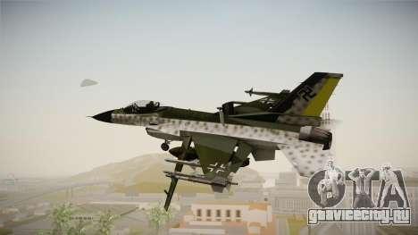 F-16A Luftwaffe WW2 для GTA San Andreas вид справа
