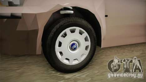 Fiat Punto 2002 для GTA San Andreas вид сзади