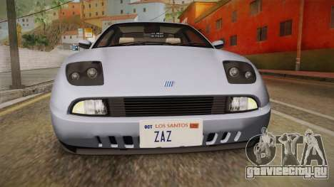 Fiat Coupe для GTA San Andreas вид сверху