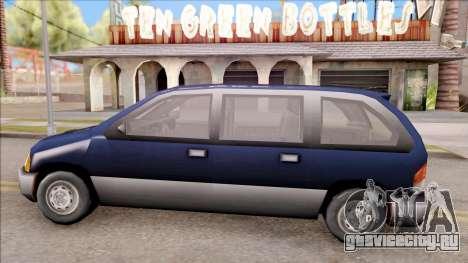Blista From GTA 3 для GTA San Andreas вид слева