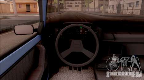 Yugo Florida 1.4 для GTA San Andreas вид изнутри