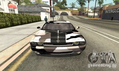Dodge Challenger SRT для GTA San Andreas