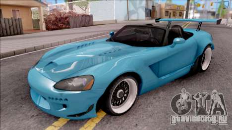 Dodge Viper SRT-10 Widebody 2003 для GTA San Andreas