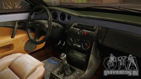 Fiat Coupe для GTA San Andreas вид изнутри
