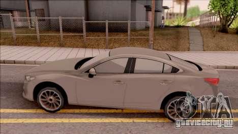 Mazda 6 2016 для GTA San Andreas вид слева
