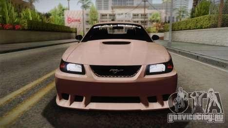 Saleen S281 2000 для GTA San Andreas вид справа