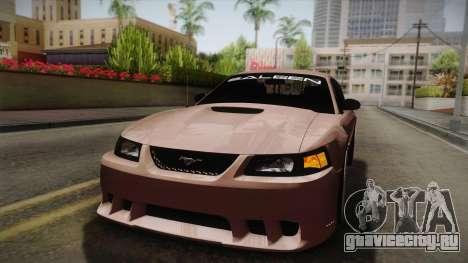 Saleen S281 2000 для GTA San Andreas вид сбоку