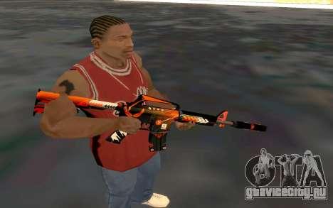 M4 Alliance для GTA San Andreas четвёртый скриншот