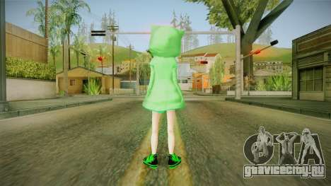 Creeper Skin для GTA San Andreas третий скриншот