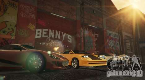 New Bennys Original Motor Works in SP 1.5.4 для GTA 5