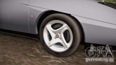 Fiat Coupe для GTA San Andreas вид сзади