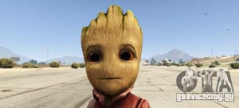 Baby Groot 1.0 для GTA 5 второй скриншот
