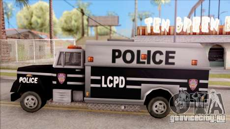 Enforcer from GTA 3 для GTA San Andreas вид слева