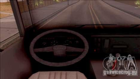 FAP Transporter Kamion для GTA San Andreas вид изнутри