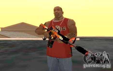 M4 Alliance для GTA San Andreas пятый скриншот