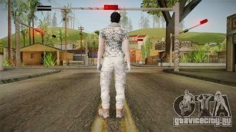 Gunrunning DLC Female Skin для GTA San Andreas третий скриншот