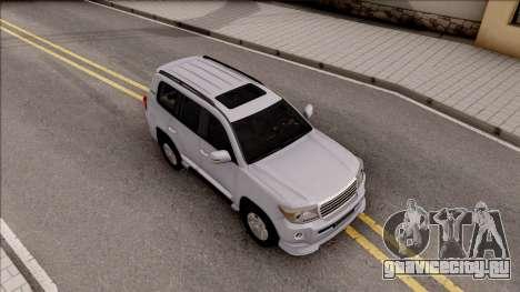Toyota Land Cruiser 200 Sport для GTA San Andreas