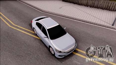 Honda Accord 2017 для GTA San Andreas вид справа