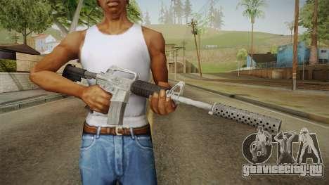 CS:GO - M4A1-S Basilisk для GTA San Andreas третий скриншот