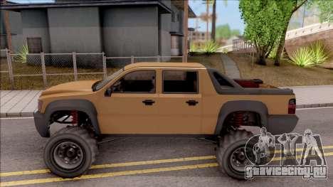 Declasse Granger 4x4 для GTA San Andreas вид слева