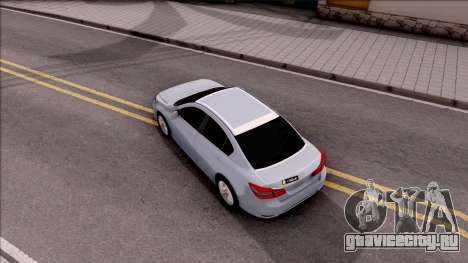 Honda Accord 2017 для GTA San Andreas вид сзади