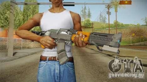 Volk Energy Assault Rifle v2 для GTA San Andreas третий скриншот